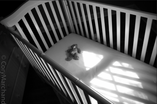 "Photo: ""Empty Cradle"" by Cory Marchand. Image links to source."