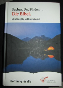 German Bible. Photo by J. Stahl.