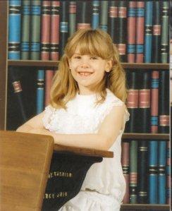 Samantha Field, first year of homeschooling.