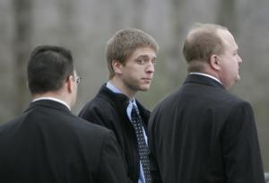 On October 4, 2009, 19-year-old Christopher Gribble (center) and three accomplices used a knife and a machete to kill Kimberly Cates and severely maim her daughter Jaime.