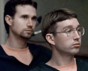 On July 1, 1999, motivated by self-professed hatred of gay people, Benjamin Matthew Williams (l) and James Tyler Williams (r) murdered Gary Matson and Winfield Mowder, a gay couple living in Redding, California.