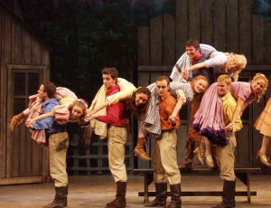 Seven Brides for Seven Brothers is a retelling of the Rape of the Sabine.