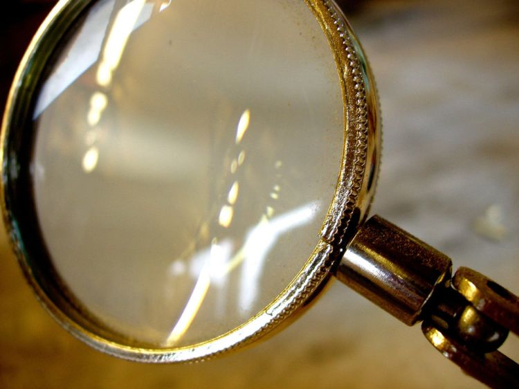 """CC image """"Magnifying Glass"""" courtesy of Flickr, Auntie P."""