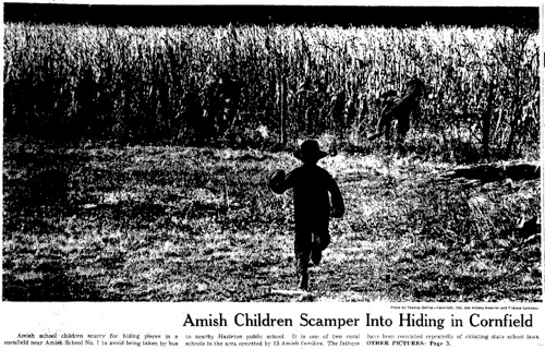 the amish educational exemption Amish seek exemption from child labor laws in recent decades, many amish have abandoned farming for work in manufacturing that's put the religious community -- where kids begin apprenticeships at.