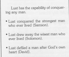 B lust conquer