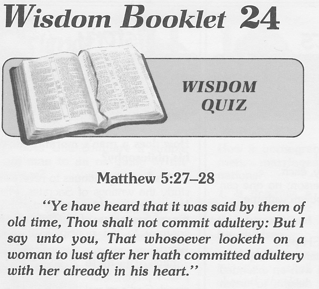 Bible end line man sex time woman
