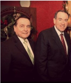 Huckabee and Gothard at a presidential luncheon