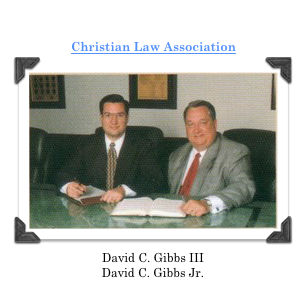David C. Gibbs III's career for the Christian Law Association began in 1993.